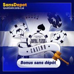 Bonus des casinos québécois